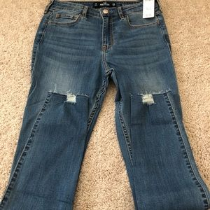 NWT HOLLISTER Women's High Rise Jeans Super Skinny